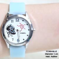 Jam tangan wanita fossil tali karet rubber guess dkny ripcurl dw murah
