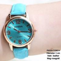 jam tangan fossil wanita simple sporty leather supplier termurah modis