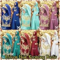 Princess Hijab Kerancang Bordir