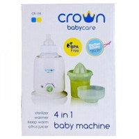 Jual Penghangat Botol Susu Bottle Warmer Crown Baby Care 4 in 1 Murah