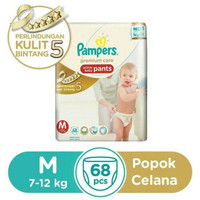 Jual Pampers Premium Care Active Baby Pants Uk. M , isi 68 Murah