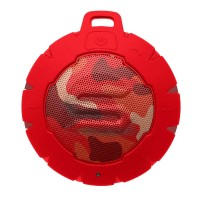 STORM Bluetooth Speaker Wireless Portable Waterproof SOUL CAMO RED