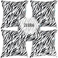 (MURAH) Sarung Bantal Kursi Sofa Set Motif Zebra