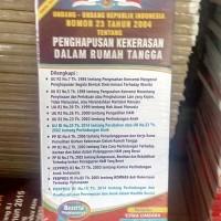 Harga UU RI NO 23 THN 2004 TENTANG PENGHAPUSAN KEKEEASAN DALAM RUMAH TANGGA | WIKIPRICE INDONESIA