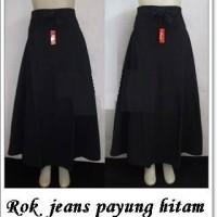 Jual Rok jeans hitam payung tko1-34 Murah