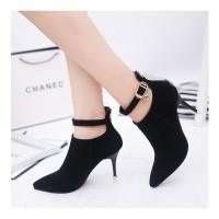 Sepatu Import Vynshoes 4001 Heeled Boots Import Murah