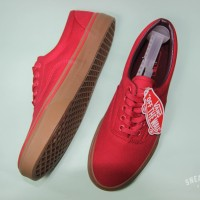 Vans Women Era Canvas Racing Red/Gum 100% Original