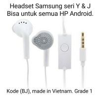Earphone/Headset Samsung seri Y & J (BJ)
