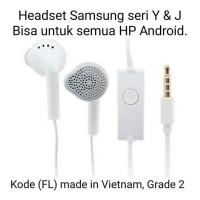 Earphone / Headset Samsung seri Y & J (FL)