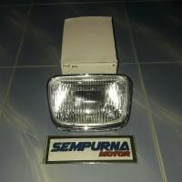Reflektor atau Lampu Depan Rx New King Komplit