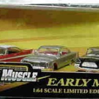 3 Car Set Early Muscle Stephen King Christine 1:64 Ertl American Muscl