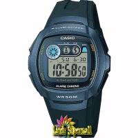 Jam Tangan Unisex Casio Standar W 210 1BVDF Alarm Chrono WR 50M