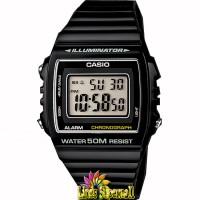 Jam Tangan Unisex Casio Standar W 215H 1AVDF Alarm Chrono WR 50M
