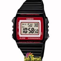 Jam Tangan Unisex Casio Standar W 215H 1A2VDF Alarm Chrono WR 50M