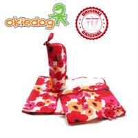 Jual Okiedog Trio Accessories Flower Red/ Changing / Perlak / Tas Bayi  Murah