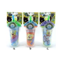 Munchkin Spongebob Insulated Straw Cup 266ml