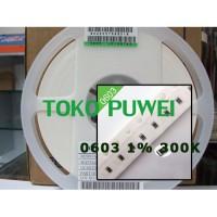 0603 1% 300K 300 K OHM 300 KOHM 1608 SMD Resistor BL05