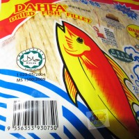 Dahfa Snek Ikan | Dried Fish Fillet 50 Gram ( Juhi )