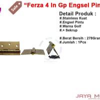 harga Ferza 4in Gp Jm Engsel Pintu / Jendela Rumah Warna Gold Awet Dan Kuat Tokopedia.com