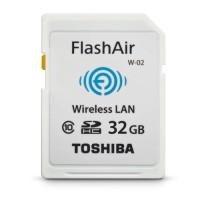 Toshiba Flash Air SD Memory Card WIFI Class 10 - 32GB