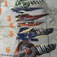 Motor Yamaha Byson 2014 150 Stiker /Lis/ Striping / Stripping