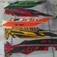 Motor Kawasaki Ninja 250RR Mono 2014 Stiker /Lis/ Striping / Stripping