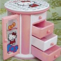 Jual Kotak Musik Hello Kitty Tempat Perhiasan Music Box Tingkat Murah Lucu Murah