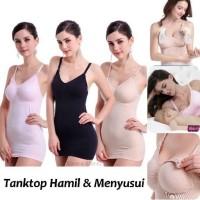 Bra Menyusui Nursing Tank Top Hamil Bra Tanktop Seamless Maternity