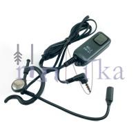 Welz EM181 Earset HT Yaesu VX-3R VX-5R Handie Talkie VX3 VX5 Earmic