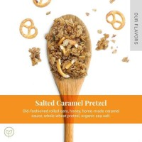 Granola Salted Caramel Pretzel by Cleaneats