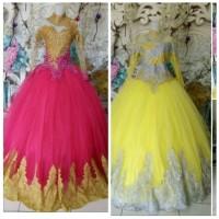 PROMO gaun pengantin model barbie semi kebaya gaun
