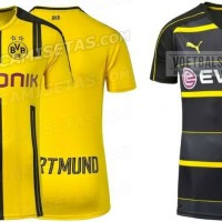 jersey dortmund home/away 17-18