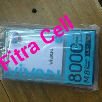 Power bank/Power beng Vivan tipe M8 8000MH ORIGINAL