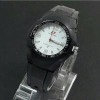 Jam tangan pria, swiss army rubber, water resist, super premium