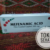 ASAM MAFENAFAT (Mafenamic Acid)_ 500mg