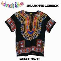 Harga baju dashiki hitam baju etnik baju | antitipu.com