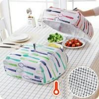 tudung saji lipat alumunium foil kitchen series
