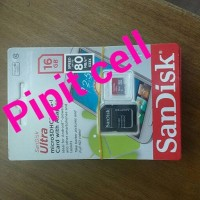 Memory card/Micro sd Sandisk 16GB class 10 speed 80Mb