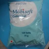Jual medisoft cotton ball - kapas medisoft Murah