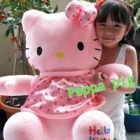 Jual Boneka hello kitty pink jumbo Murah