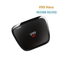 Jual V99 H-E-R-O Android 5.1 TV Box RK3368 4GB RAM, 32GB ROM Set Top Box Murah