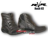 Sepatu Touring RvR Rush V2 Black