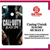 Casing Xiaomi Mi Max 2 call of duty 1 Custom Hard Case Cover