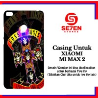 Casing Xiaomi Mi Max 2 Guns N Roses Music Custom Hard Case Cover