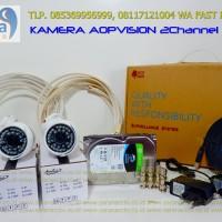 PAKET 2 CAMERA HD 1080P outdoor 2.0 Megapixel