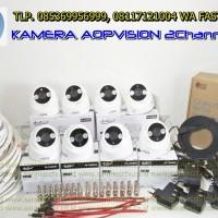 PAKET 8 CAMERA HD 1080P indoor / dome 2.0 Megapixel