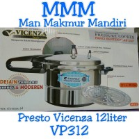 Harga Presto Vicenza 12 Liter Travelbon.com