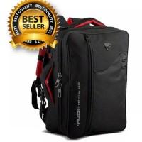 Jual tas laptop 14 inch ransel backpack slempang palazzo 3 in 1 Murah