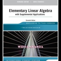Elementary Linear Algebra With Supplemental Applications 11th Edition