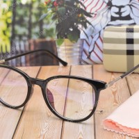 Frame Kacamata Wanita 2519 Hitam Kilat Terbaru